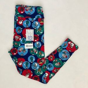 LuLaRoe Women's Holiday Ornament Leggings TC2